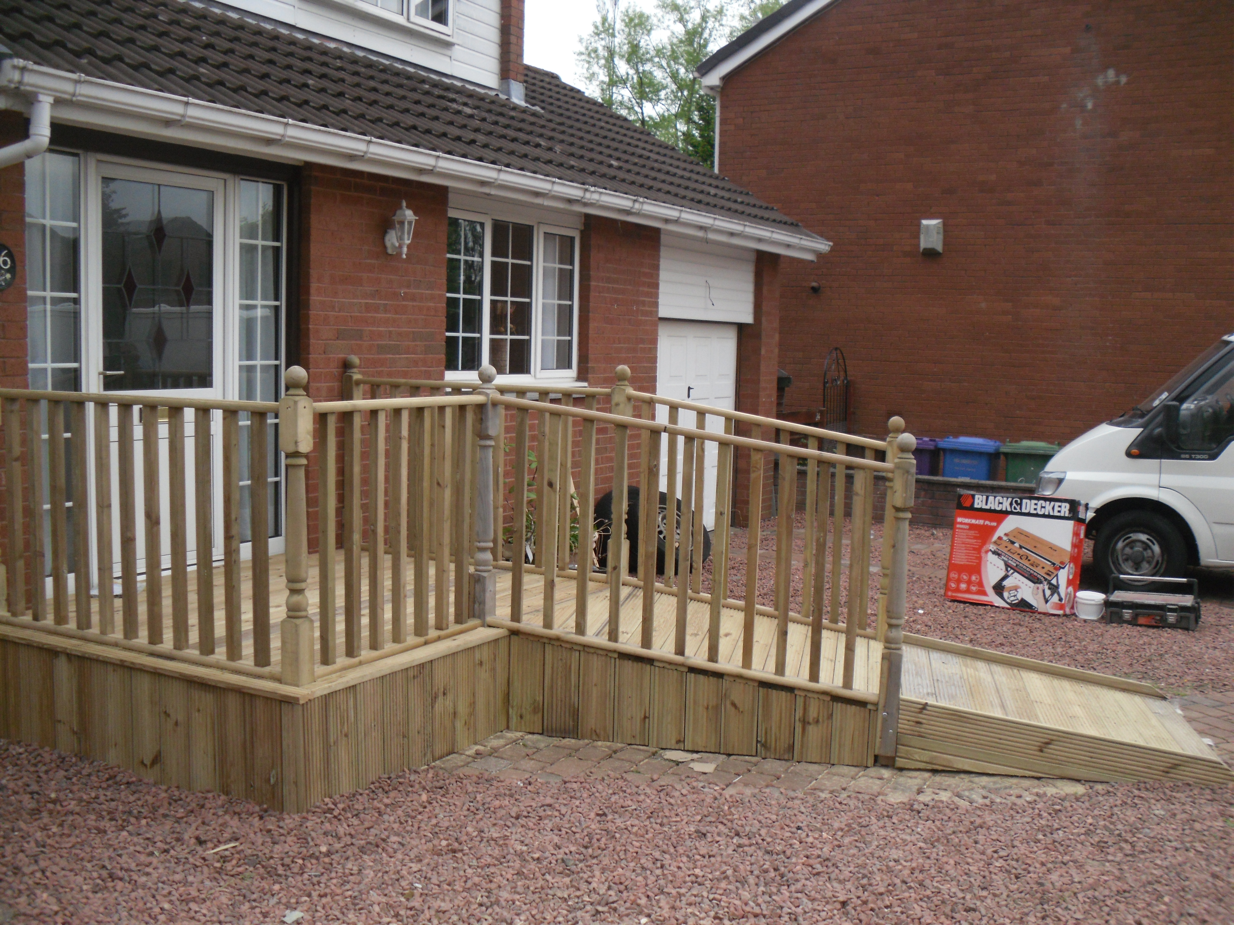 disabled access ramps wheelchair ramps glasgow